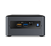 Intel NUC7CJYH NUC 7 Mini PC Celeron J4005 Dual-Core CPU, 2x DDR4 SO-DIMM, 2.5Inch HDD/SSD, Intel HD Graphics 60