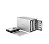 Orico WS400RC3 4Bay Aluminum Alloy External Hard Drive Enclosure, Type-C HDD RAID Storage Support RAID 0/1/JBOD