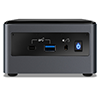 Intel BXNUC10i5FNH 10th Gen Core i5-10210U Barebone System Quad Core / 8Thread 6MB cache, Dual channel DDR4-2666 SODIMMs, M.2 PCIe x4 Gen3 NVMe / 2.5inch SATA 6Gb/s, Micro SDXC Slot UHD Graphics , 3 Years Warranty