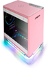 In-Win A1-Plus Pink Mini-ITX Tower with Integrated RGB Lighting 650W PSU / Qi 1.2 10W Wireless Phone Charger Computer Chassis Cases w/2 Sirius Loop ASL120 Fans IW-A1PLUS-PK