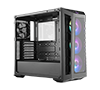 Cooler Master MasterBox MB530P aRGB ATX Mid Tower Case w/3 Tempered Glass Panels + 3xaRGB Fan MCB-B530P-KHNN-S01