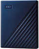 WD My Passport for Mac 2TB Blue Portable External Hard Drive USB-C/USB-A - WDBA2D0020BBL-WESN