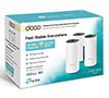 TP-Link Deco P9 3-Pack AC1200 Whole Home Powerline Mesh Wi-Fi System, Up To 6000 Sq ft Coverage