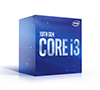 Intel Core i3-10100 Comet Lake 4-Core 8-Thread 3.6GHz (4.3 GHz Turbo) 6MB Cache LGA 1200 65W Desktop Processor Intel UHD Graphics 630 BX8070110100