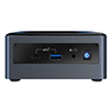 Intel BXNUC10I7FNH 10th Gen Core i7-10710U Barebone System Upto4.7 GHz,  6-Core 12-Thread 12MB cache, Dual channel DDR4-2666 SODIMMs, M.2 / 2.5inch SATA 6Gb/s, Micro SDXC Slot , 3 Years Warranty