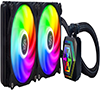 SilverStone PF Series 240mm CPU Liquid Cooler Integrated aRGB Fan SST-PF240-ARGB
