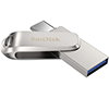 SanDisk Ultra Dual Drive Luxe 256GB USB Type- Flash Drive SDDDC4-256G-G46