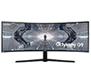 Samsung LC49G95TSSEXXS 49Inch DQHD 240Hz 1ms G-Sync Comepatible Monitor With 1000R Curved Display