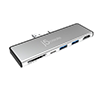 J5 Create JCD324S UltraDrive Mini Dock for Surface Pro 7 - Silver