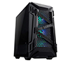 Asus Tuf Gaming GT301 Mid-Tower Case w/120mm AURA Addressable RBG fans, Headphone Hanger