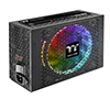 Thermaltake Toughpower iRGB Plus 1250W 80+ Titanium Smart Zero 16.8 Million Colors RGB Fan Fully Modular Haswell/Kaby Lake/Digital SLI/Crossfire Ready Power Supply PS-TPI-1250DPCTEU-T