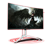 AOC Agon AG272QCX 27Inch 144Hz 4ms QHD Gaming Monitor
