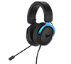 Asus TUF Gaming H3 Blue 7.1 Surround Sound Gaming Headphones with Boom Microphone for PC, PlayStation 4, Nintendo Switch, Xbox One, Mobile Devices (2-Years)