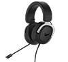 Asus TUF Gaming H3 Silver 7.1 Surround Sound Gaming Headphones with Boom Microphone for PC, PlayStation 4, Nintendo Switch, Xbox One, Mobile Devices (2-Years)