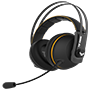 Asus TUF Gaming H7 Yellow Wireless Gaming Headset for PC, Mac and PlayStation 4 2-Years