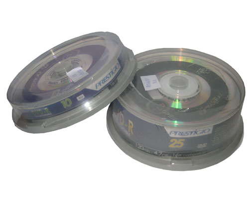 Prestigio 16x DvD+R Media 10pcs Cake Box