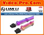 Lian Li Strimer 8 Pins Addressable RGB VGA Power Cable