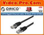 Orico CAT6 Gigabit Ethernet Cable 1M Black (PUG-C61BK)