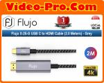 Flujo X-25 USB C to HDMI Cable (2.0 Meters)