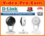 D-Link DCS8300LH Full HD 137° Wide Angle Wi-Fi Camera