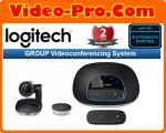 Logitech Group Video Conferencing System for mid to large rooms 960-001054