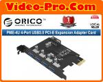 Orico PME-4U 4-Port USB 3.0 PCI-E Card