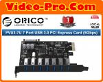 Orico PVU3-7U 7 Port USB 3.0 PCI Express Card (5Gbps)