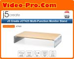 J5 Create JCT425 Multi-Function Monitor Stand USB Type-C™, 4K HDMI™ & 6-Port USB™ HUB with Power Delivery