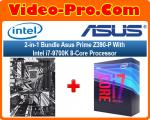 2-in-1 Bundle Asus Prime Z390-P Motherboard Bundle With Intel Core i7-9700K 8-Core Processor