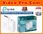 TP-Link TL-WPA8630PKit AV1200 Gigabit w/AC Pass-through Powerline Kit