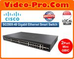 Cisco SG350X-48 Gigabit Ethernet Smart Switch with 24 10/100/1000 Ports and 2 Combo Mini-GBIC Ports (SLM2024T)