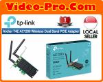 TP-Link Archer T4E AC1200 Dual Band Wireless PCI Express Adapter, 2.4Ghz 300Mbps + 5Ghz 867Mbps