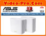 Asus CT8 ZenWiFi AC Whole-Home Tri-Band Mesh WiFi System - 2 Pack