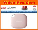 Hikvision T100I 480GB Rose Gold External SSD USB3.1 TypeC - Up to 450MB/s Read Speed 340MB/s Write Speed