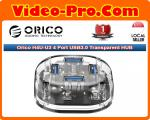 Orico H4U-U3 4 Port USB3.0 Transparent HUB