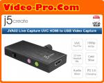 J5 Create JVA02 Live Capture UVC HDMI to USB Video Capture