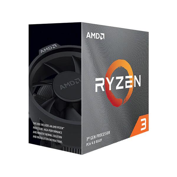 AMD Ryzen 3 3100 3rd Generation Desktop Processor Upto 3.9 GHz 18MB Cache AM4 Socket AMD100-100000284BOX